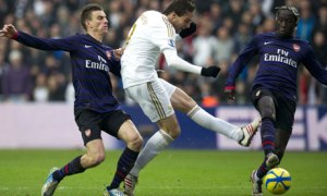 Michu, Swansea v Arsenal